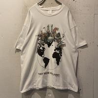 90s animal printed T-shirt