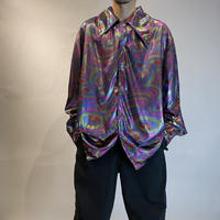 psychedelic design L/S shirt