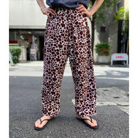 old giraffe pattern easy pants