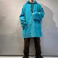 hoodie design denim coat