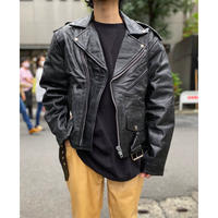 90s leather riders jacket