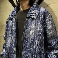 reversible leopard patterned  jacket