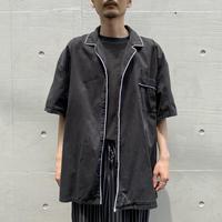90s s/s 2tone design shirt