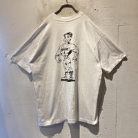 90s muscle printed T-shirt