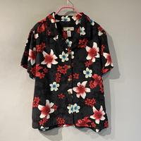 flower pattern S/S shirt