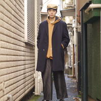 Cashmere chester coat