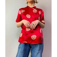90年代 シルクチャイナシャツ