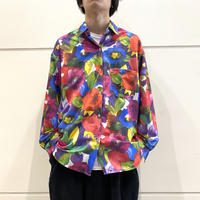 80s~ all patterned L/S shirt
