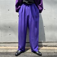 90s wide silk easy pants