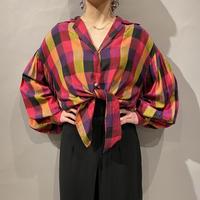 volume sleeve design blouse
