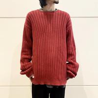 """90s """"Timberland"""" oversized cotton knit sweater"""