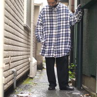 """KING SIZE"" flannel shirt"
