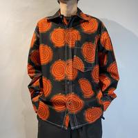 90s〜L/S design shirt