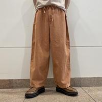90s~ linen blend easy pants
