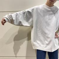 "90s ""FRUIT OF THE LOOM"" oversized plain sweat shirt"