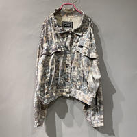 90s〜 people print short jacket