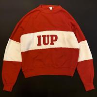 """80s """"IUP"""" sweat shirt"""