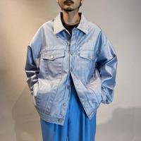 90s oversized shiny tracker jacket