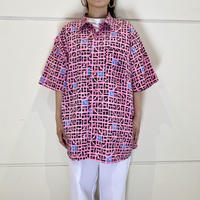 80s S/S all patterned shirt