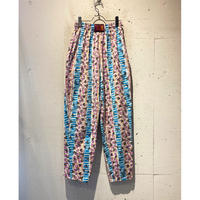 80s all pattern easy pants