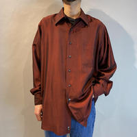 """""""DKNY"""" L/S shiny rayon shirt"""