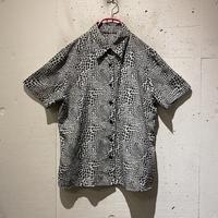 animal pattern S/S shirt