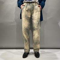 """""""GRAMicci"""" bleach design easy pants"""