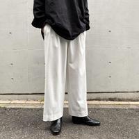 2tucks wide pants