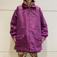 90s〜oversized nylon zip jacket