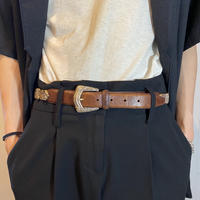 """FOSSIL"" design leather belt"