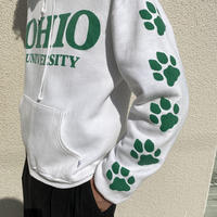 "80s ""OHIO UNIVERSITY"" printed hoodie"