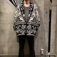 90s shawl collar gobelins jacket