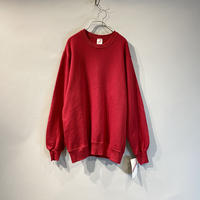 80s dead stock plain sweat shirt
