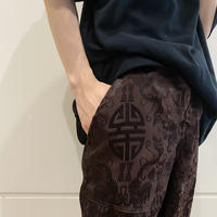 90s~ Chinese patterned half pants