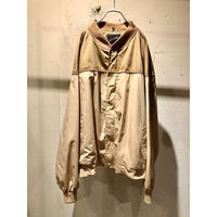 oversized two-tone design blouson