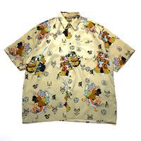 90s〜 japanese patterned shirt