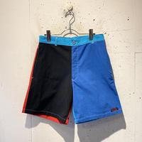 80s crazy pattern short pants