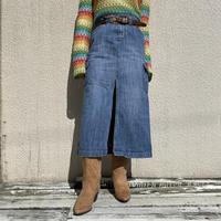 """90s〜""""Mudd"""" denim slit skirt"""