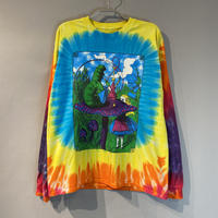 Alice in Wonderland tie-dye L/S cut & sew