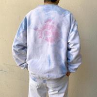 old tie-dye sweat shirt