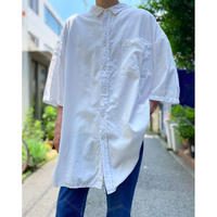 oversized cotton S/S shirt