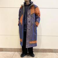 """deadstock"" 80s〜shiny design nylon coat"