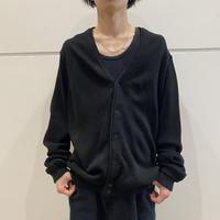 90s oversized acrylic knit cardigan