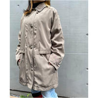 80s poly hooded jacket