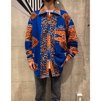 african fabric L/S shirt