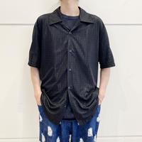 90s S/S see-through shirt