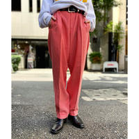 high-waist 2 tuck slacks pants