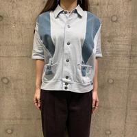 60s〜 s/s design knit shirt