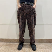90s all patterned velours pants