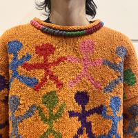 handmade design knit sweater